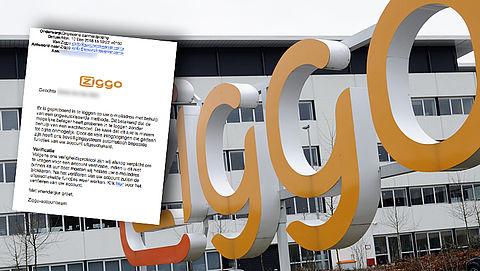 Pas op voor zeer realistische phishingmail van 'Ziggo'