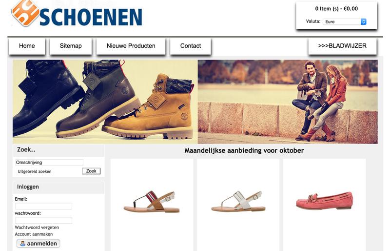'Srsband.nl en g-cs.nl misbruiken het logo van Schuurman Schoenen'