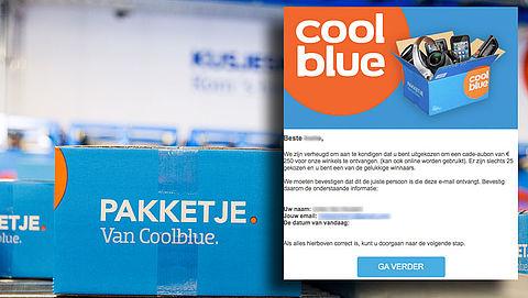 Winactie 'Coolblue' heeft misleidende boodschap