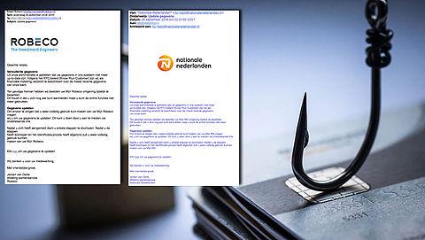 Pas op voor valse mails 'Nationale Nederlanden' en 'Robeco'