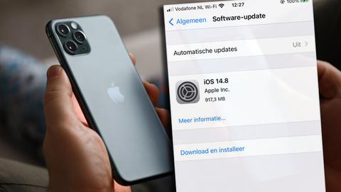 Beveiligingslek Apple: gebruikers iPhone (iOS) en MacOS moeten direct beveiligingsupdate installeren
