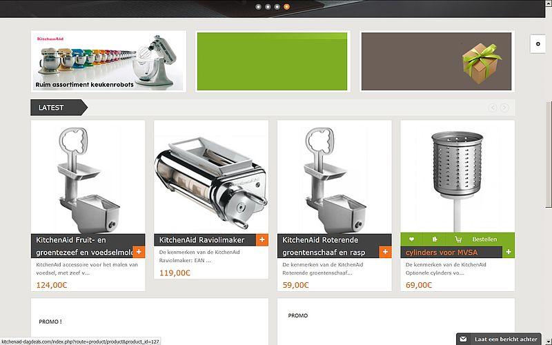 'Doe geen aankopen bij kitchenaid-dagdeals.com'