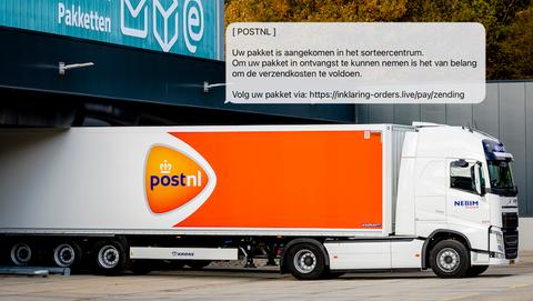 Oplichters zetten overtuigende nepsite van 'PostNL' online: kijk uit voor phishing!