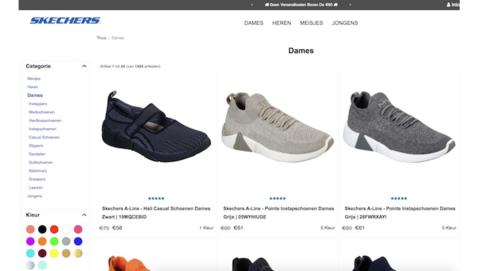 Politie: 'Schoenen van Skechers kopen? Skechersnederland.org is een onbetrouwbare webshop'