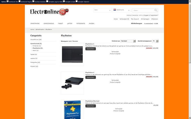 'Prijzen Electronline24.com te mooi om waar te zijn'