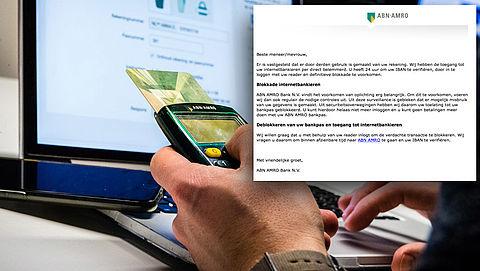 Trap niet in phishingmail 'ABN AMRO' over geannuleerde transactie