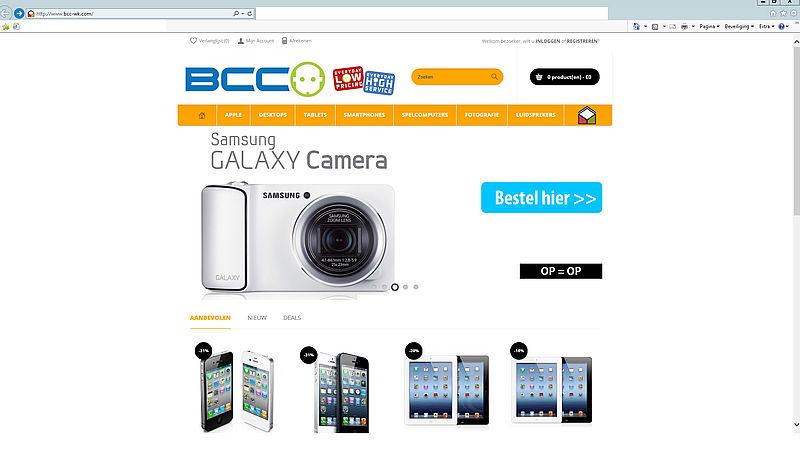 'Weer nieuwe nep BCC in de lucht: bcc-wk.com'