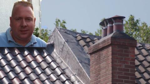 Dakdekker Peter Adriaensen uit Arnhem dupeert zijn klanten
