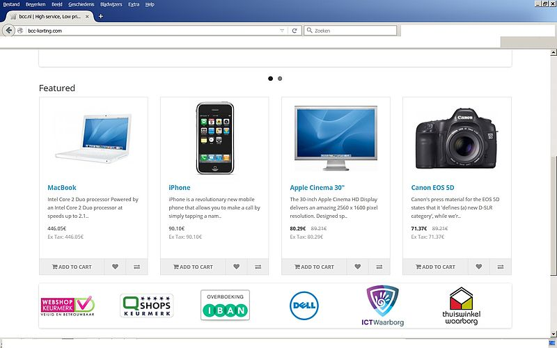 'Koop niets bij www.bcc-korting.com'
