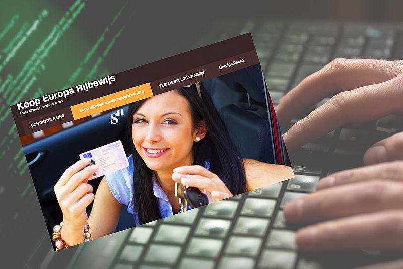 Let op! 'www.verkrijgenrijbewijs.nl' is een malafide website