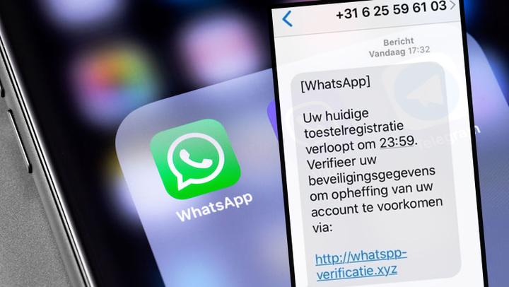 Oplichters proberen jouw WhatsApp-account te hacken