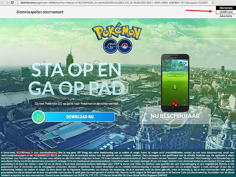 Pas op voor misleidende e-mails Pokémon Go!