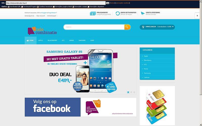 'Telecombinatie-hq.nl maakt misbruik gegevens'