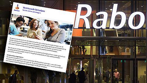 Kijk uit voor realistische phishingmail van 'Rabobank' over nieuwe betaalpas