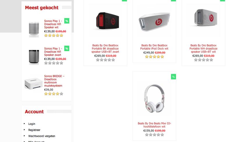 'Rode-audio.nl misbruikt KvK en prijzen zijn te mooi'