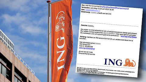 Pas op voor phishingmail van 'ING' met je telefoonnummer