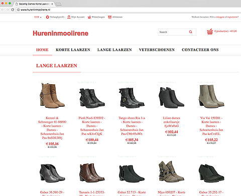 'Hureninmooiirene.nl misbruikt de naam van Schoenenhuis Jan Pas'