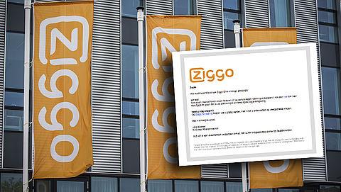 Pas op voor phishingmail 'Ziggo' over wachtwoordwijziging
