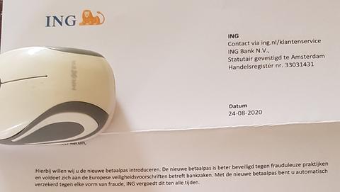 Nepbrief van 'ING': oplichters zijn uit op je pinpas en pincode