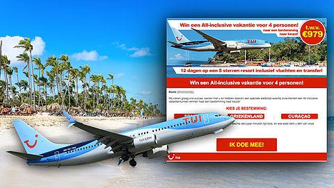 Winactie 'all inclusive vakantie' uit naam van TUI is misleiding