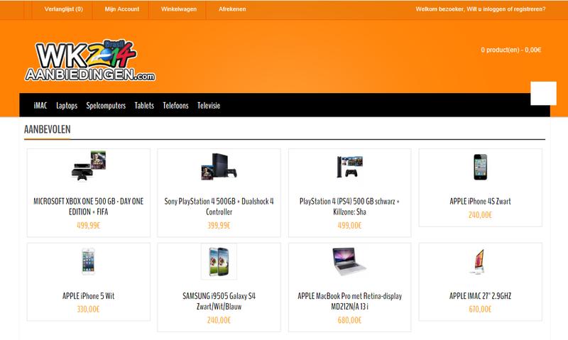 'wkaanbiedingen.com adverteert op gehackte Marktplaatsaccounts'