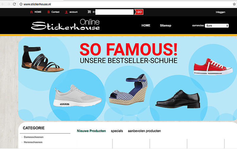 'Stickerhouse.nl misbruikt logo Thuiswinkel Waarborg'
