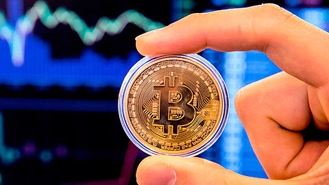 Koers bitcoin daalt flink na hack in Zuid-Korea