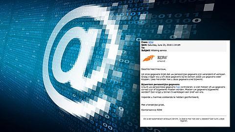 Pas op! Valse e-mail van de RDW in omloop