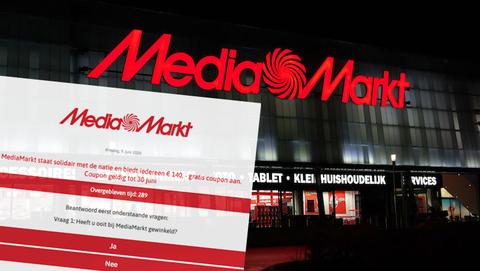 MediaMarkt deelt géén cadeaukaart t.w.v. € 140,- uit via Facebook