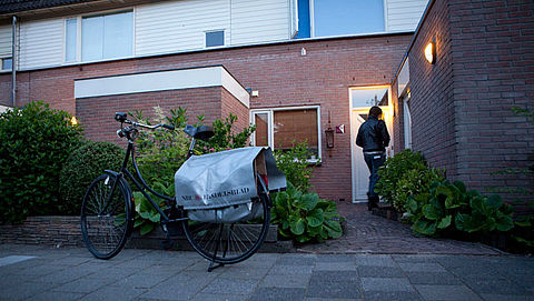 Malafide 'krantenbezorgers' in Groningen