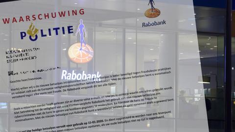 Phishingbrieven verstuurd uit naam van Rabobank