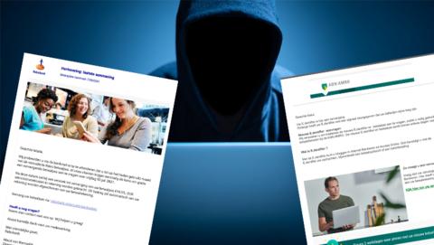 Valse mails ABN AMRO en Rabobank over verplichte aanvraag nieuwe bankpas