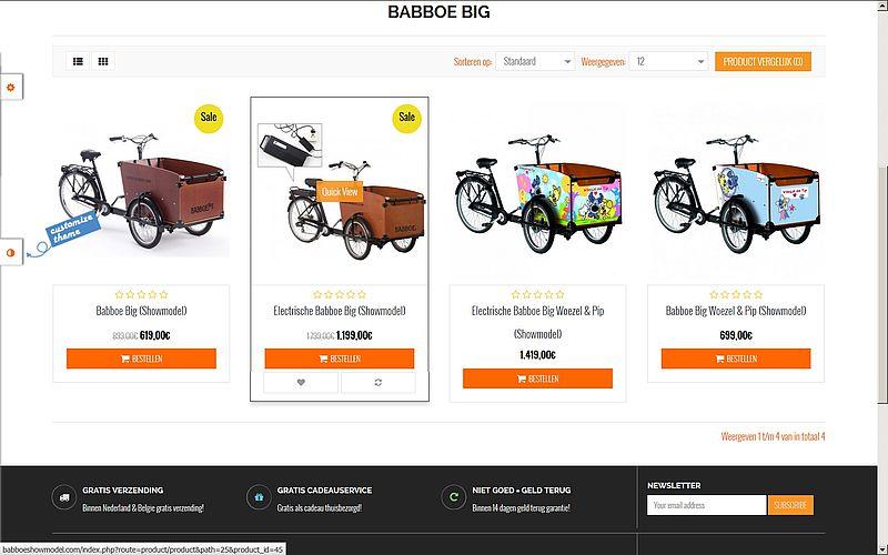 'Babboeshowmodel.com is TE goedkoop'