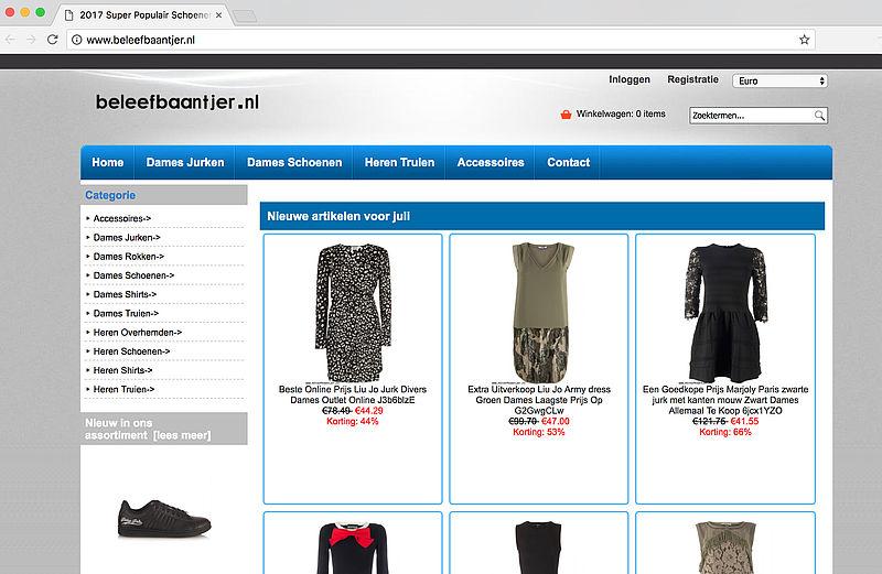 Politie waarschuwt voor malafide webwinkels