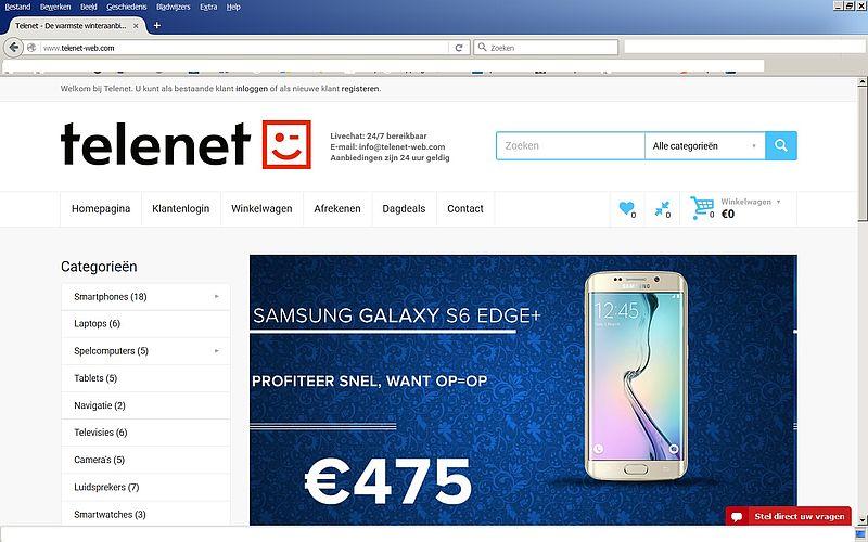 'Koop niets bij www.telenet-web.com'