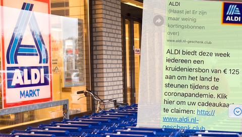 ALDI geeft géén cadeaukaart ter waarde van 125 euro weg via een kettingbericht op WhatsApp