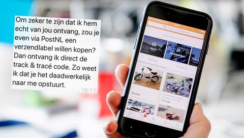 Fraudehelpdesk waarschuwt voor nieuwe oplichtingstruc op Marktplaats met verzendlabel