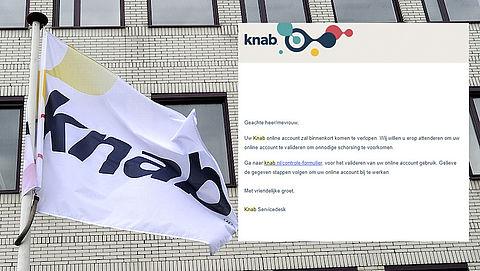 E-mail over verlopen Knab-account is nep
