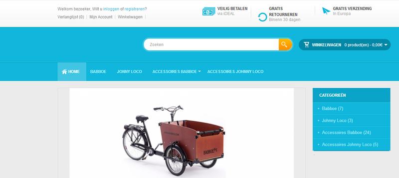 'Bakfietsoutlet.com misbruikt KvK-gegevens bonafide bedrijf'
