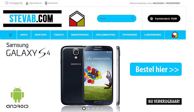 'Stevab.com misbruikt logo en certificaat Thuiswinkel.org'