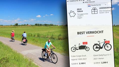 Wil je online een nieuwe elektrische fiets kopen? Winkel-fiets.com is een onbetrouwbare webshop