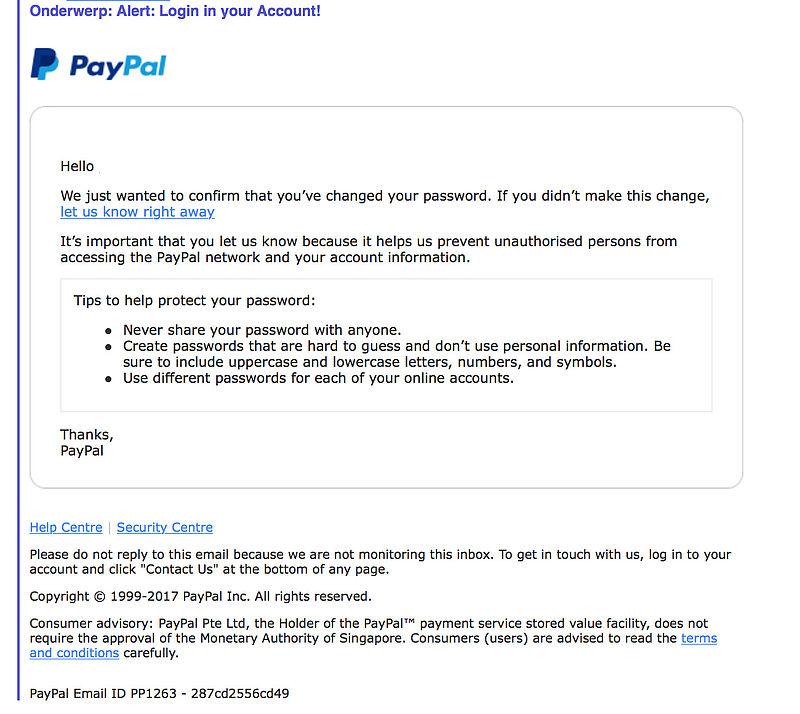 Pas op! Phishingmails PayPal in omloop