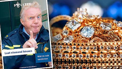 Babbeltruc: 'geen gouden sieraden vanwege elektrische straling'