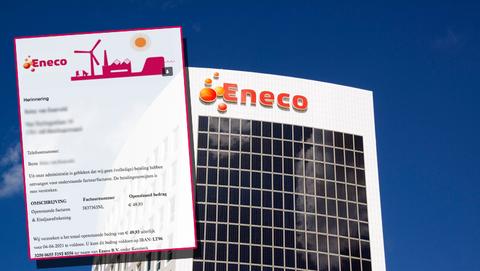 Spookfactuur van Eneco als valse e-mail: 'De betalingstermijn van deze factuur is verstreken'