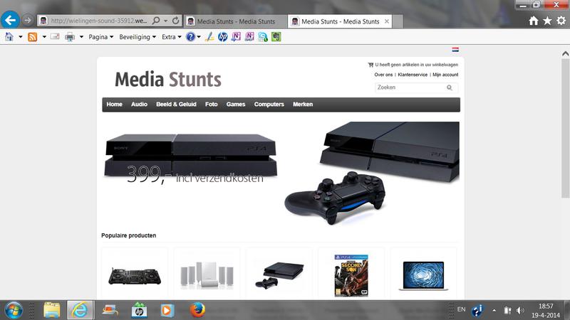 'Wielingenmedia.com leidt nu door naar Media Stunts'