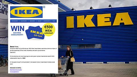 Valse winactie uit naam IKEA: 'U maakt kans op een cadeaukaart'