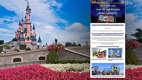 Misleidende winactie Disneyland