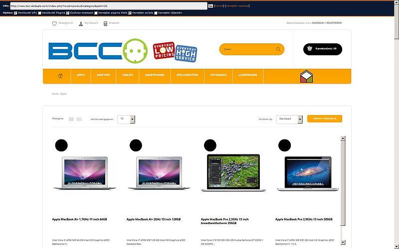 'Ook bcc-wkdeals.com is nep'