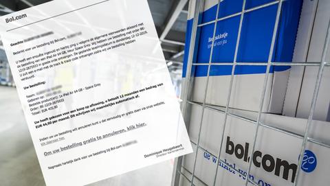 Gevaarlijke malware in valse mail van 'Bol.com'