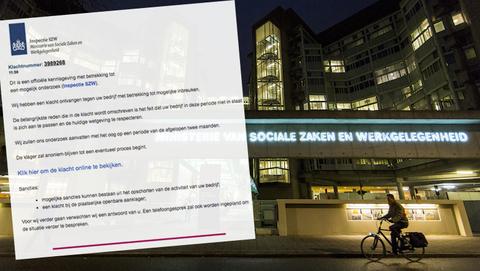 Valse mail uit naam van Inspectie SZW bevat mogelijk malware